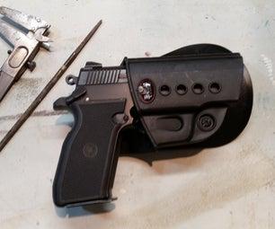 Modify a Fobus Paddle Holster for a Star Firestar M43 or Firestar Plus 9mm