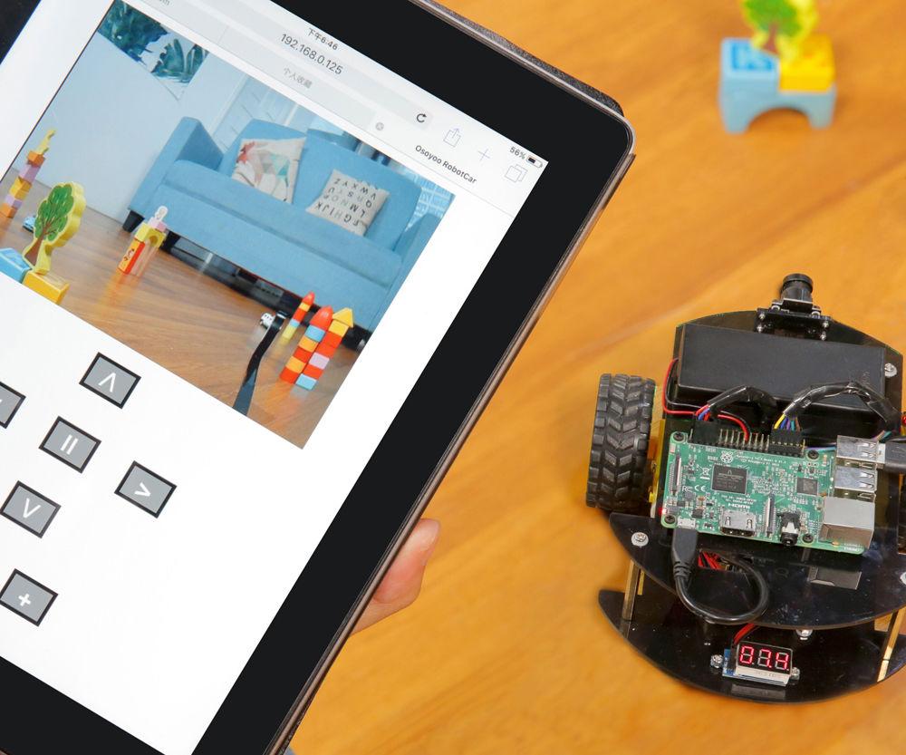 Raspberry Pi Robot Car Lesson 3: Web Control Camera
