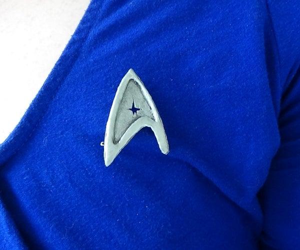 Upcycled Star Trek Combadge