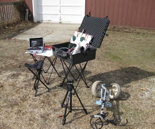 PORTABLE ANT STUDY FIELD WORKSTATION