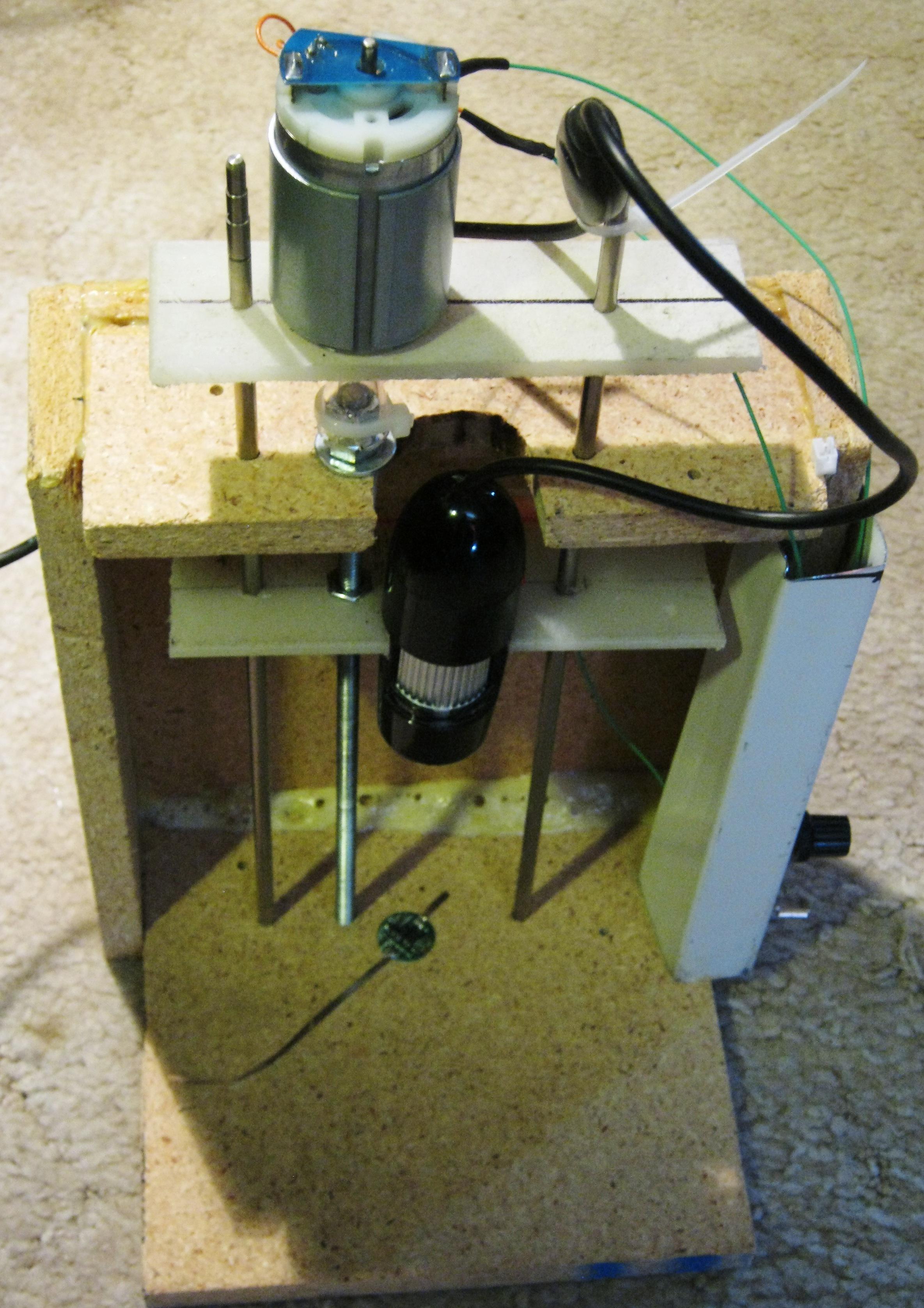 Adjustable USB Microscope
