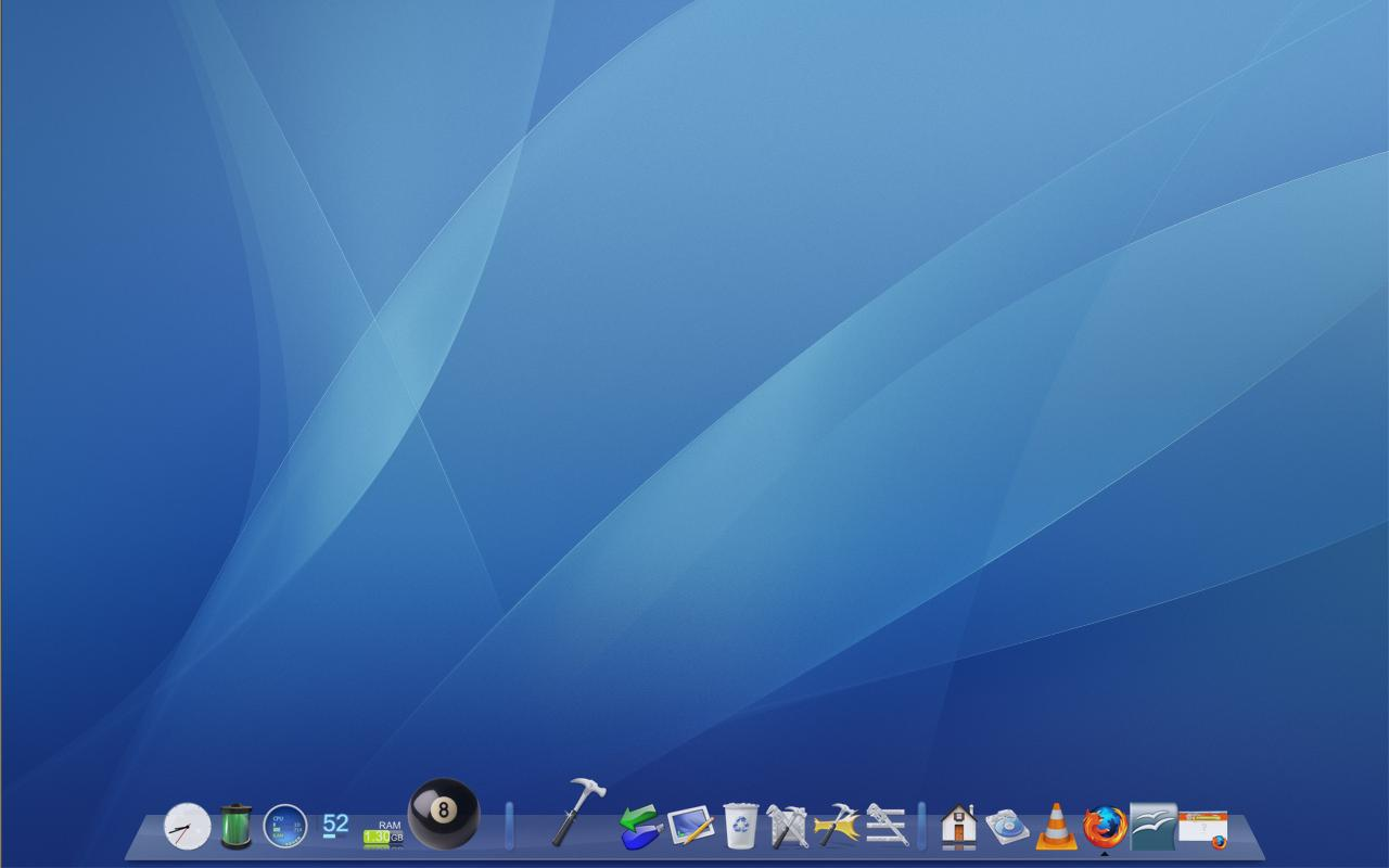 Make your XP LOOK (to the untrained eye) like Mac OS X