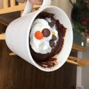 Easy Chocolate Peanut Butter Mug Cake (eggless).