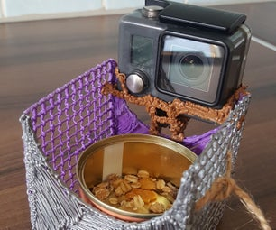 Bird Feeder and Camera Holder