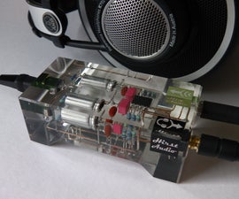 Crystal CMoy Free Form Headphone Amplifier