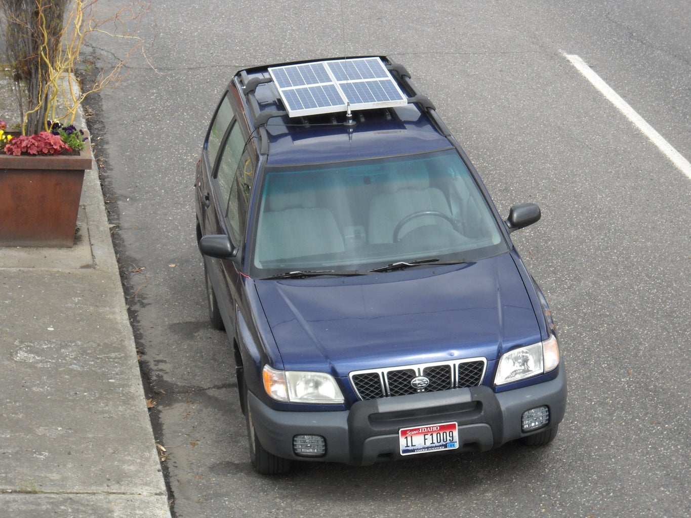 Mounting the Solar Rack