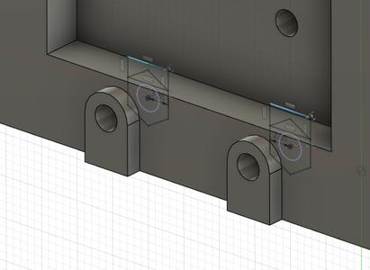Design Process - Moving Load Cell Mount - Endstop Nut Insert