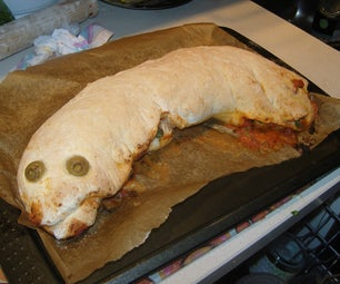Sandworm / Graboid (Rolled Up) Pizza