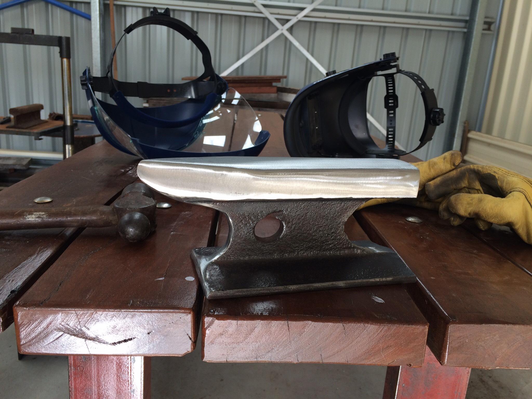 Railway Iron Anvil