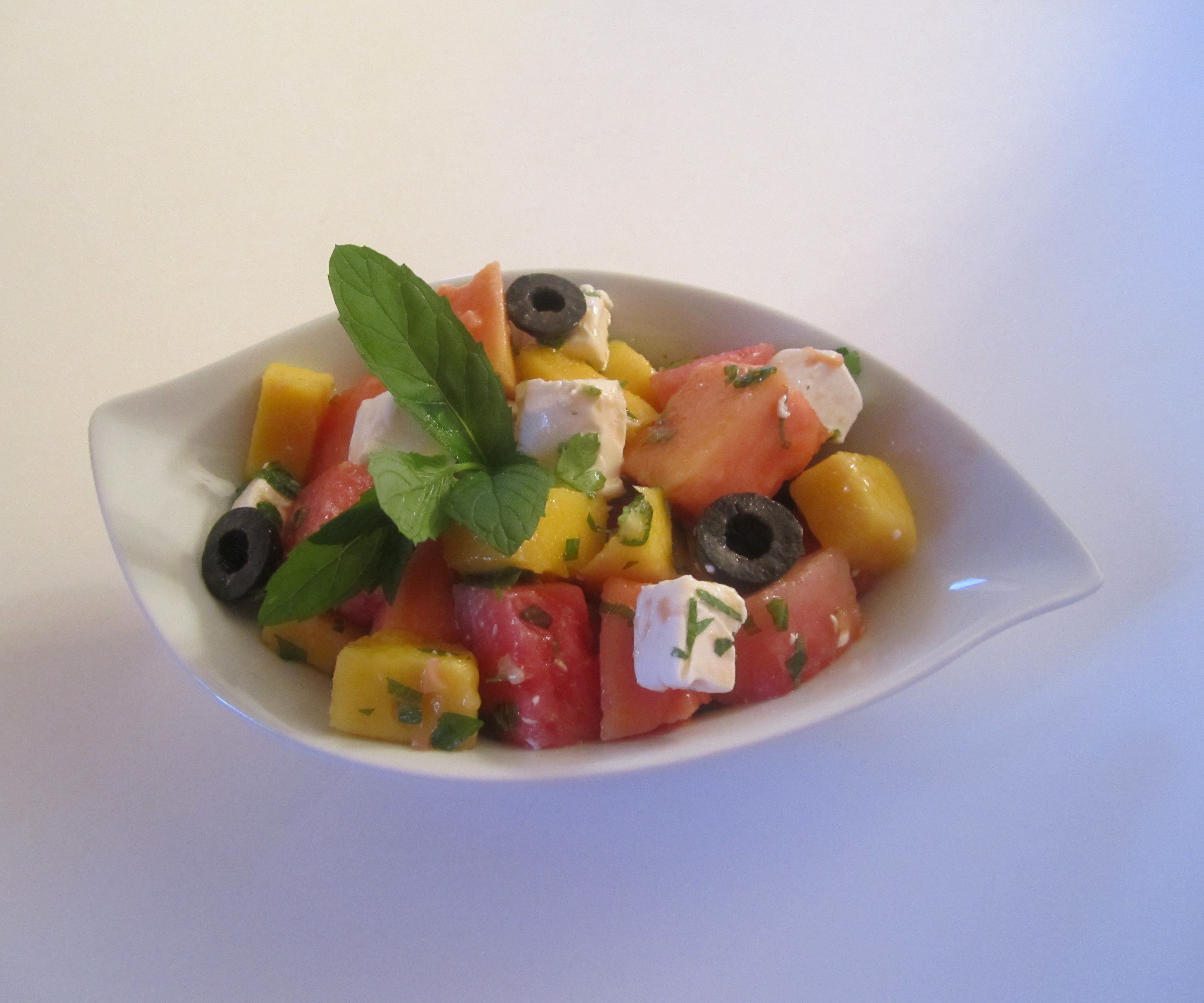 Rainbow Salsa Salad
