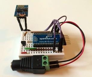 ESP8266 Wifi Temperature Logger