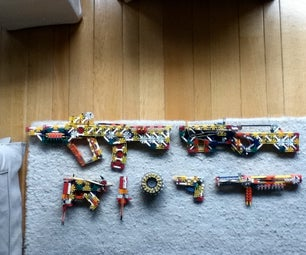 My Knex Gun Armory