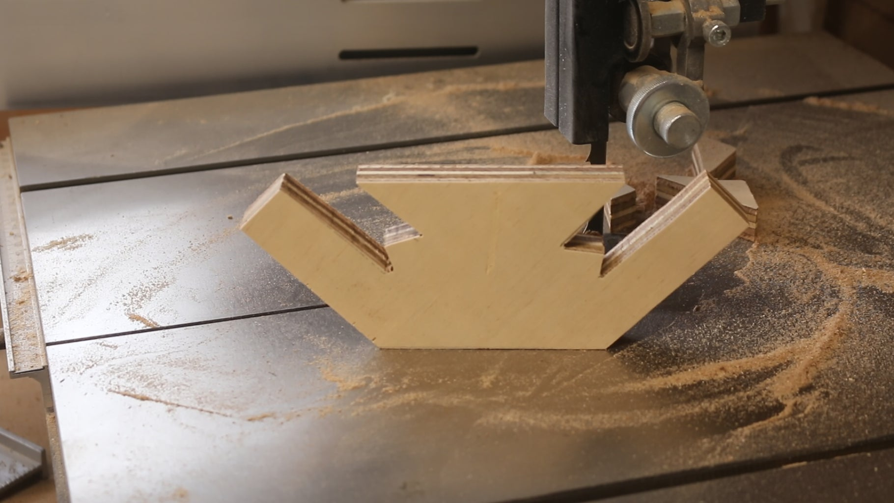 Cut Spaces for Clamps