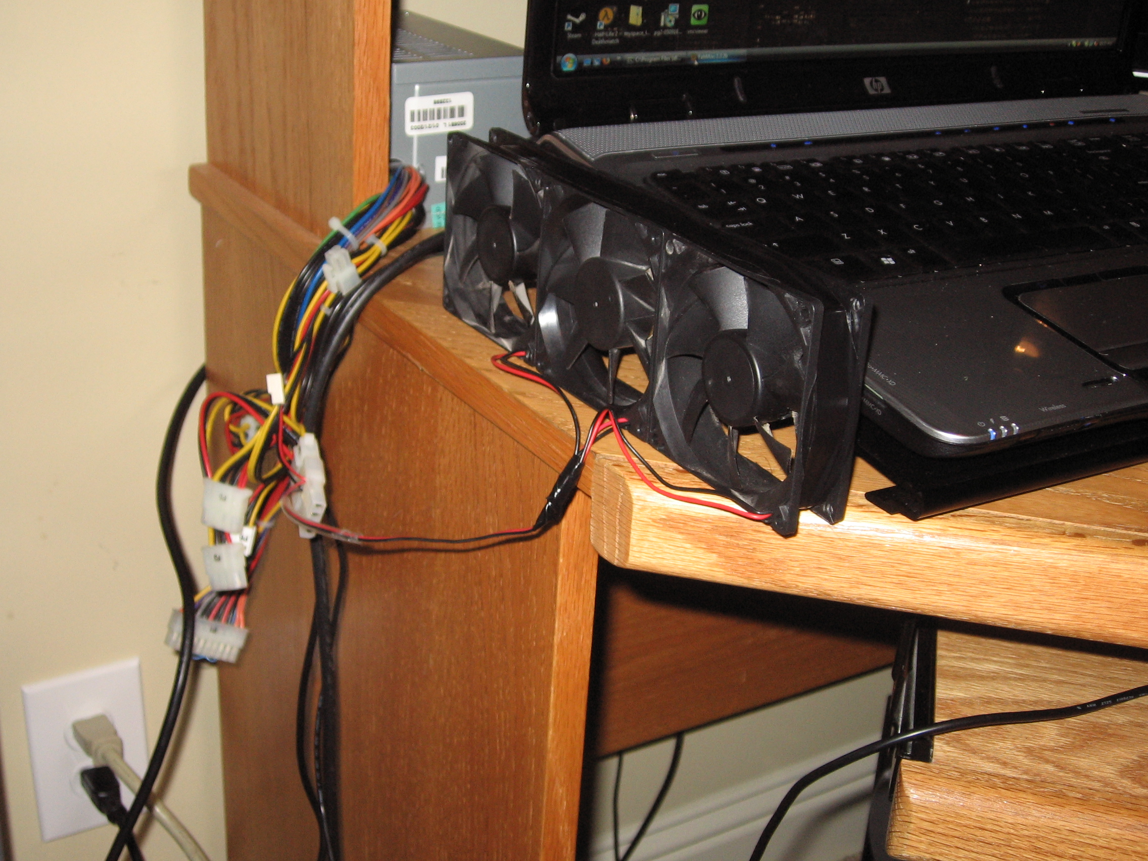 Cheap Laptop Cooling!