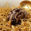 Honey Dessert Noodles (Crispy Asian Dessert)