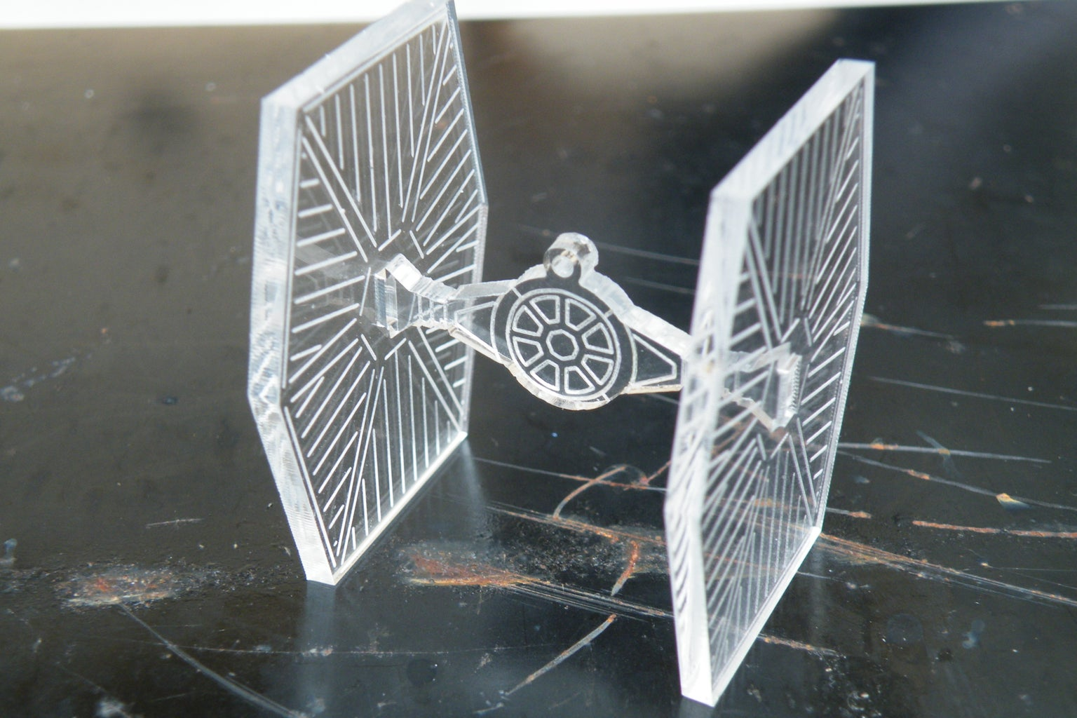 Assemble the Tie Fighter