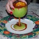 The Apple Cider Martini and Martini Glass