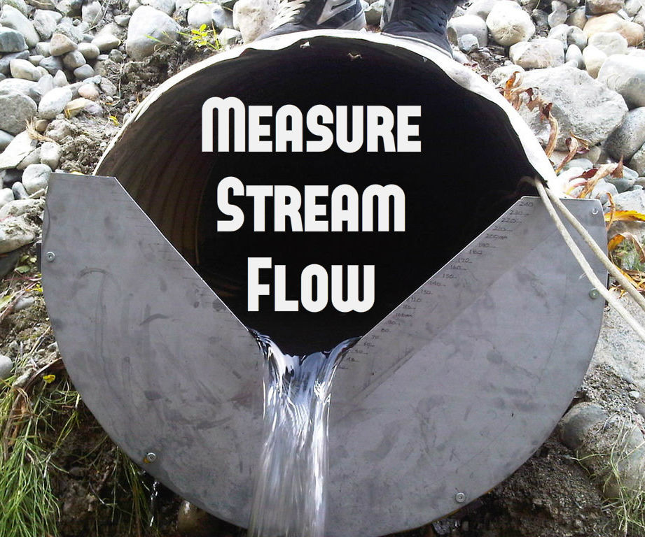 Temporary V Notch Weirs for Culverts