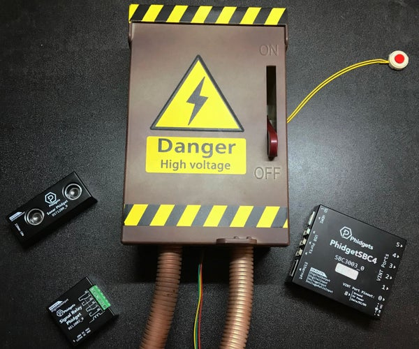 Hack Your Halloween With Phidgets