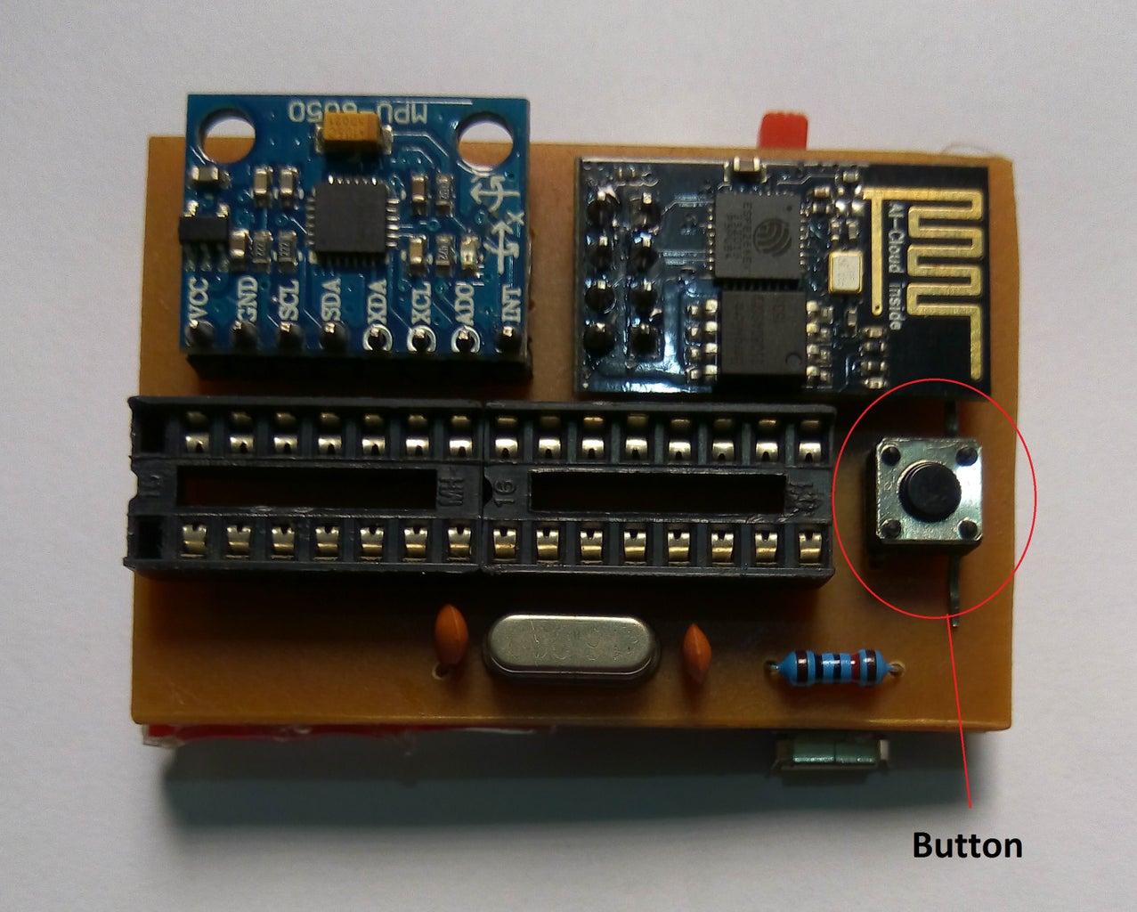 Solder MPU6050 Sensor Board to PCB