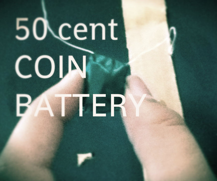 50 cent coin battery