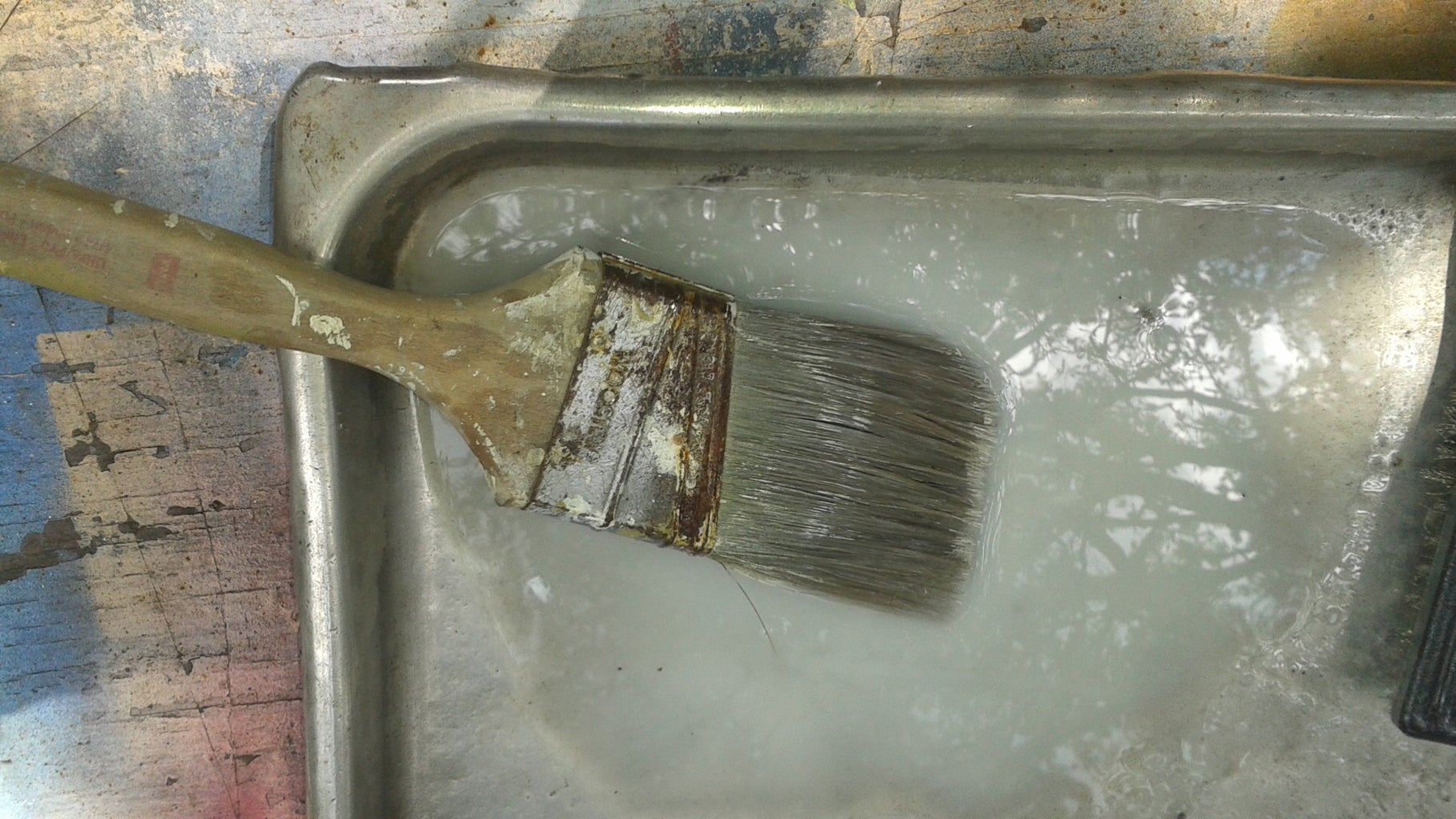Removing the Built-Up Paint