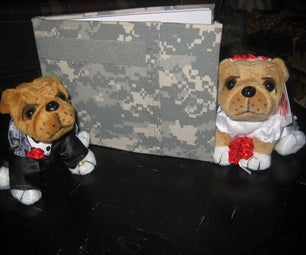 Army Wedding Guestbook