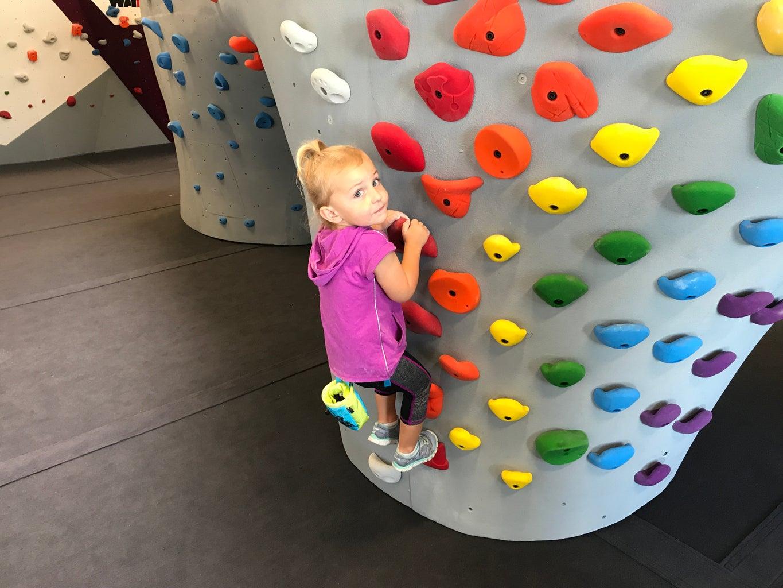Getting Kids Into Climbing