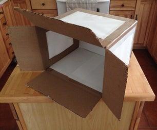 Light Box From Cardboard Box