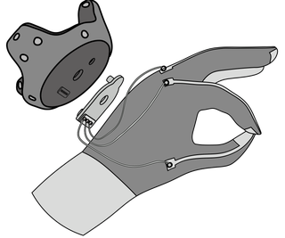 3D Printed Connector for VR Gloves