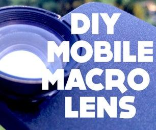 DIY Mobile Macro Lens