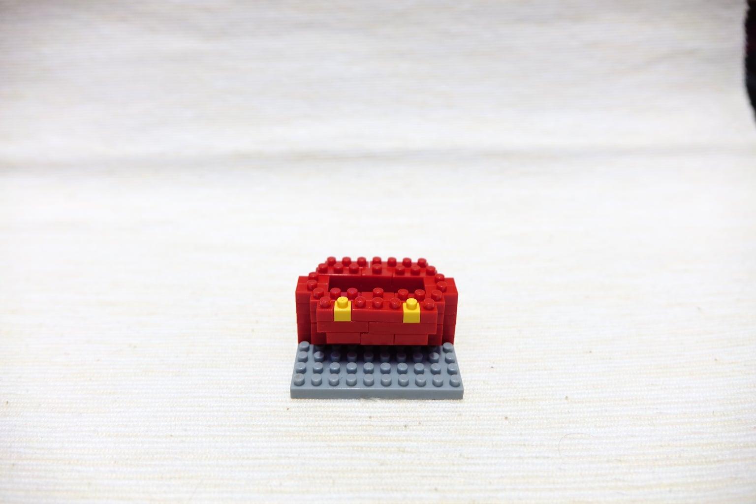 Red Block 1*1, 1*1