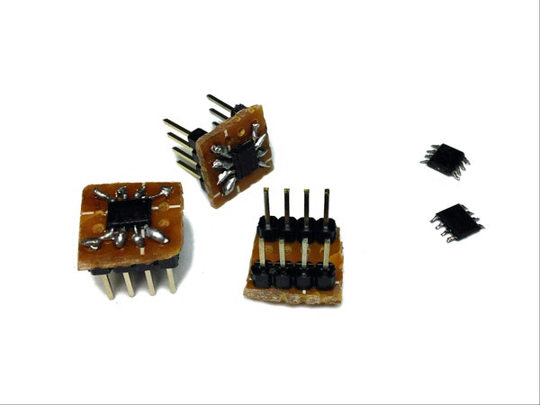 Make SMD Chips Breadboard Friendly