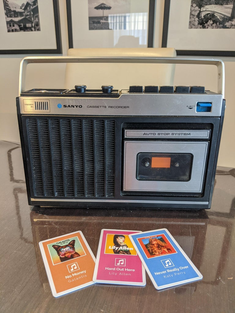Enjoy Your Old School Cassette Player With New School Cassettes