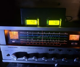 Add a Digital Display to an Old Communications Receiver