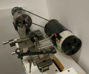 Treadmill Motor for Taig Lathe