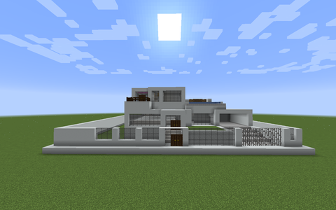 Large Minecraft Modern House