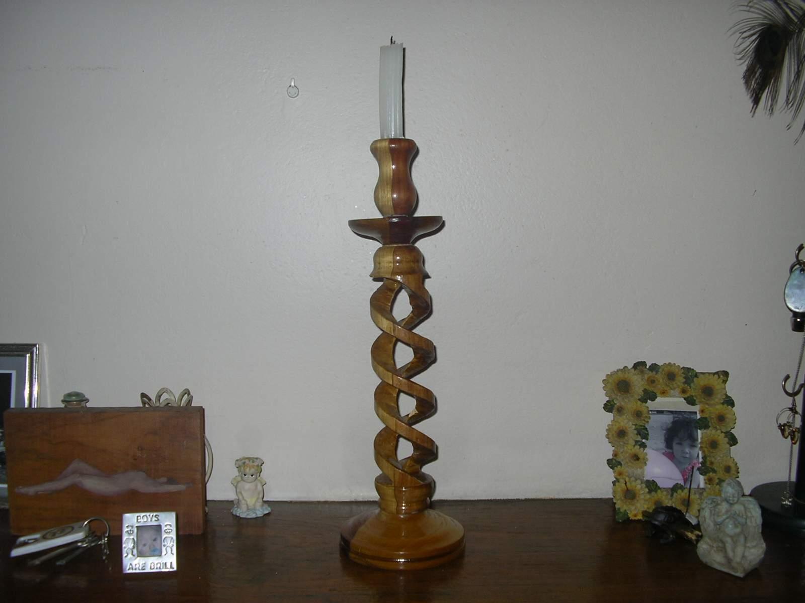 Spiral woodwork