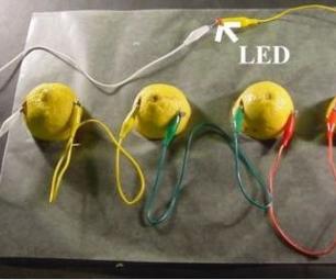 Batería Con Limones