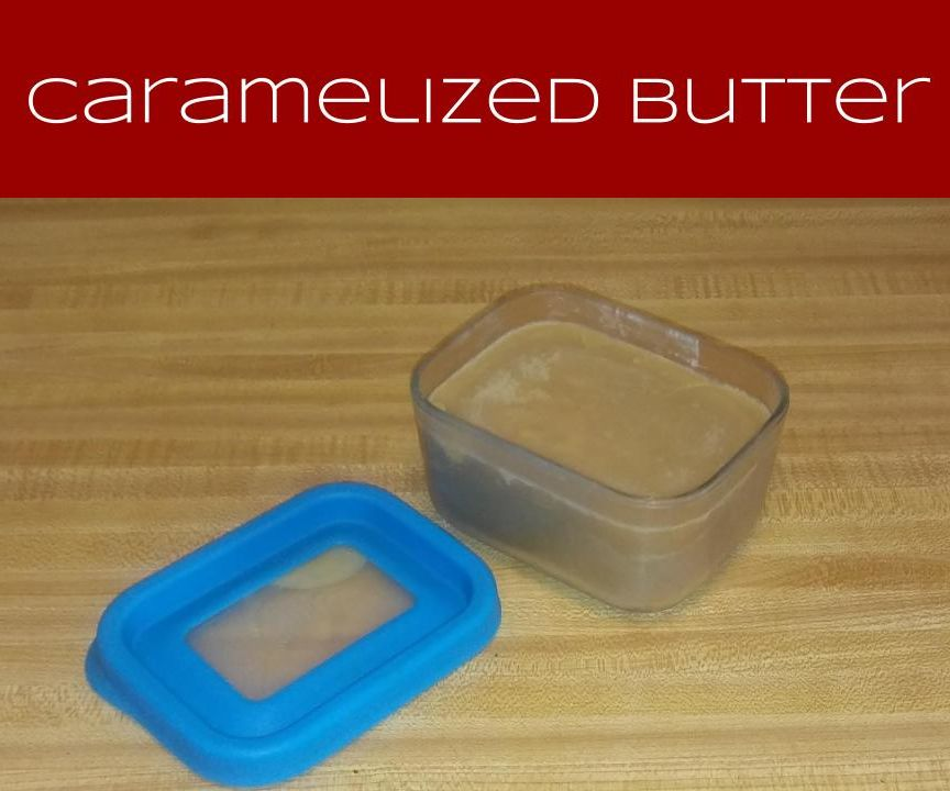 Caramelized Butter (a.k.a. Browned Butter or Beurre noisette)