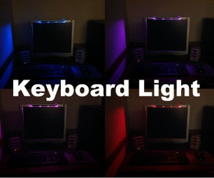 Fading RGB Keyboard Light