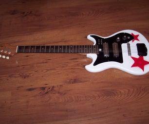 My Custom Painted Guitar
