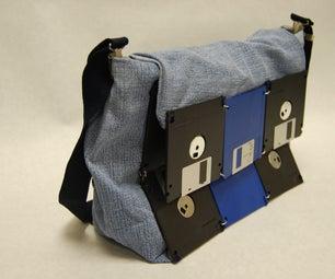 Floppy Disk/Jeans Bag