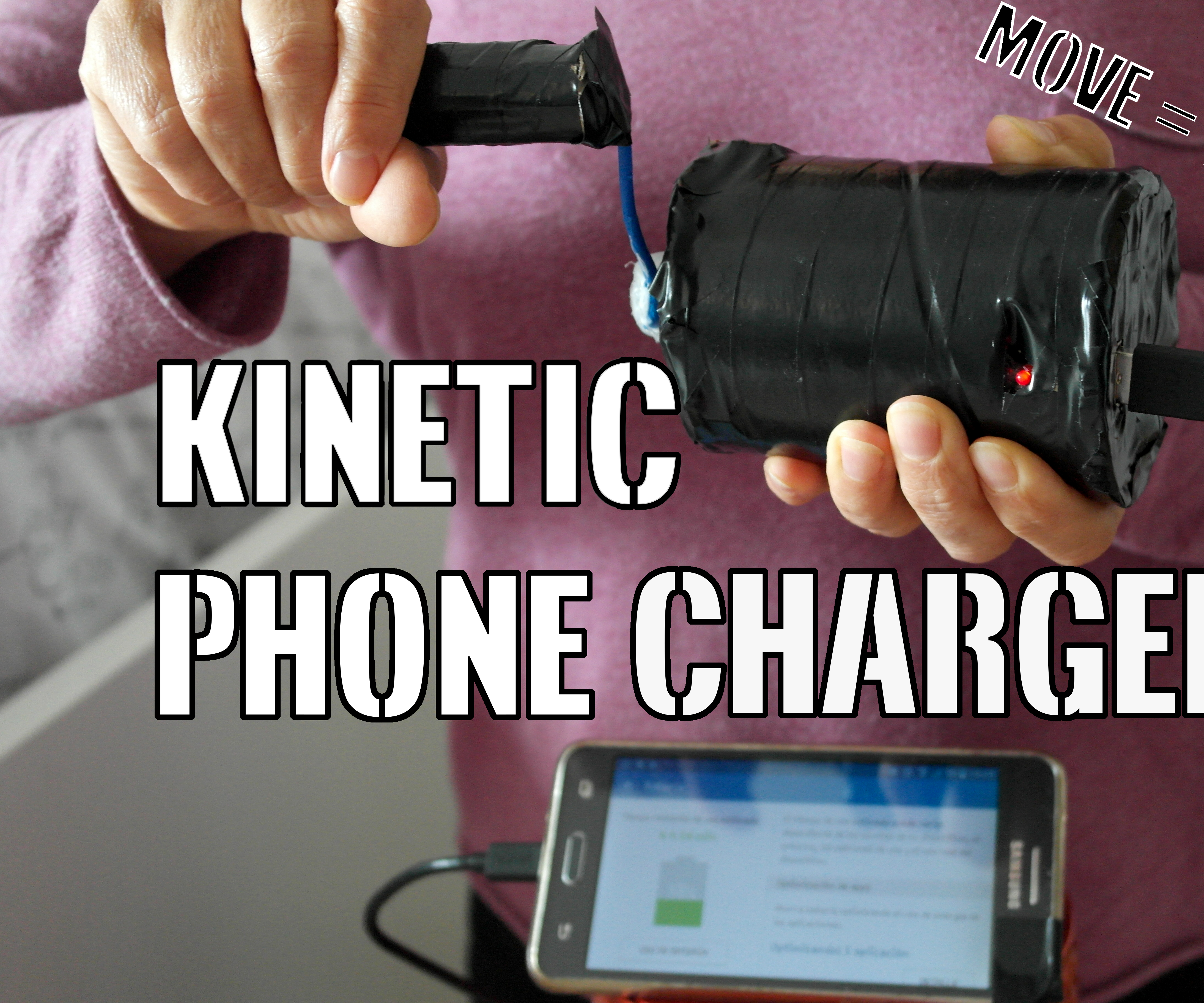 Kinetic Phone Charger