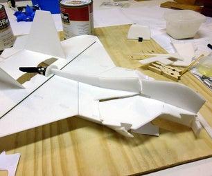 "How to Repair ""Foamie"" Profile R/C Airplane"