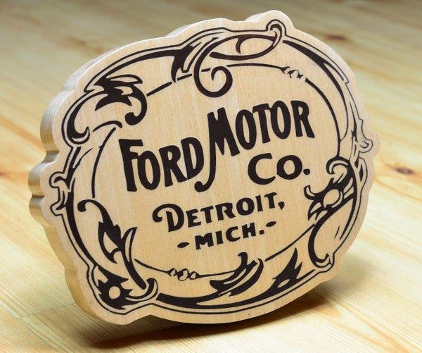 Wooden Ford 1903 Logo