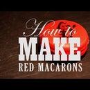 How to Make Red Mandarin Macarons