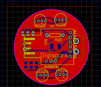 The PCB Making (Produced by JLCPCB)