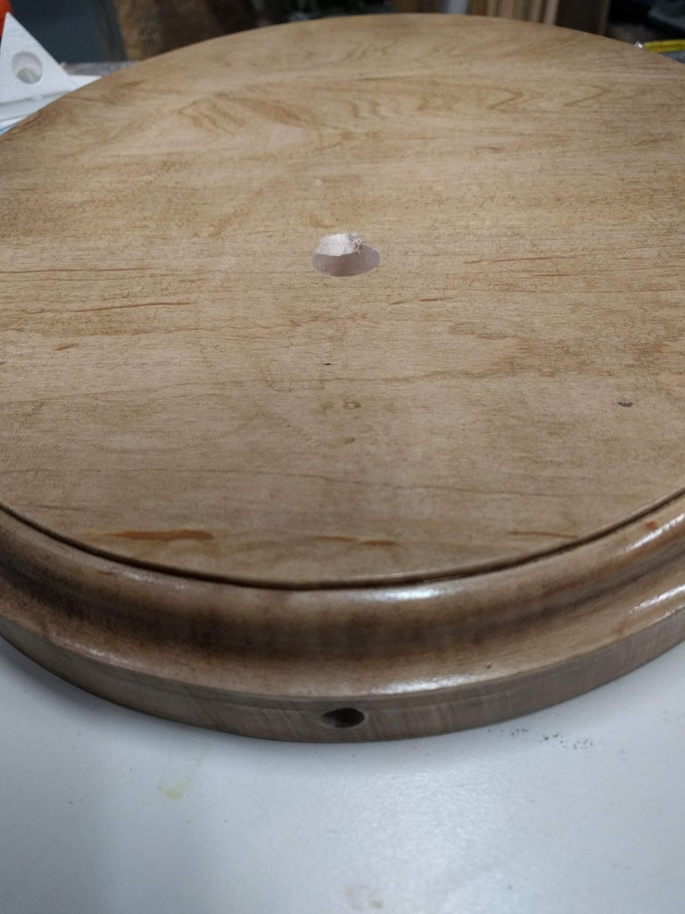 Step 3: Route Wire Into Wood Base