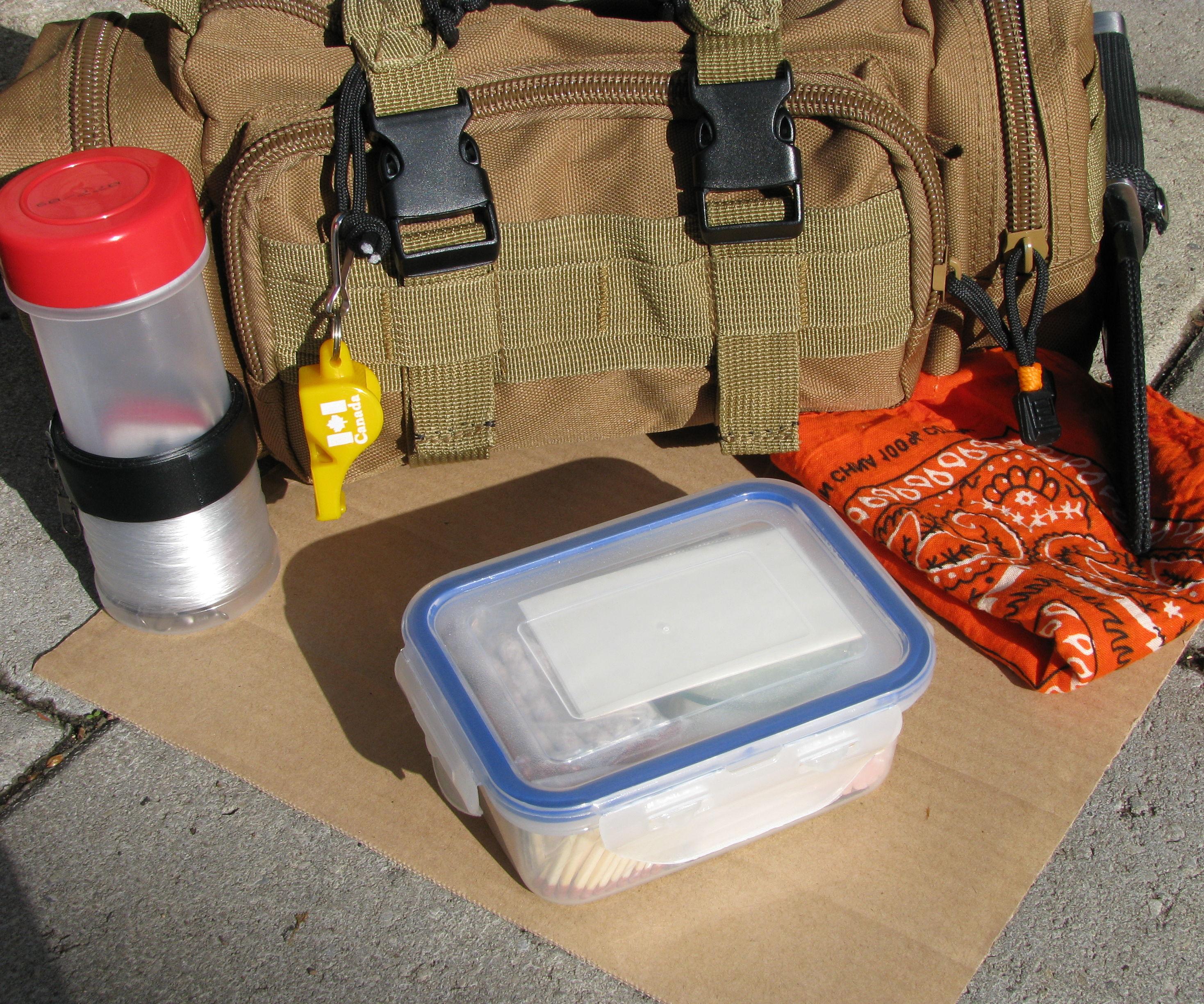 Comprehensive Survival Fire Kit